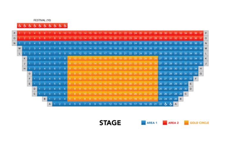 La Jolla Playhouse Seating Chart