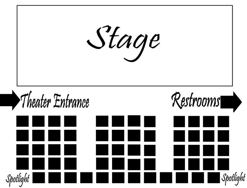 The Broadway Theatre Sseating Chart