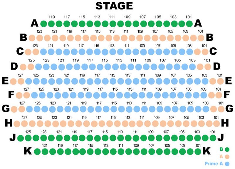 Horton Grand Theatre Seating Chart
