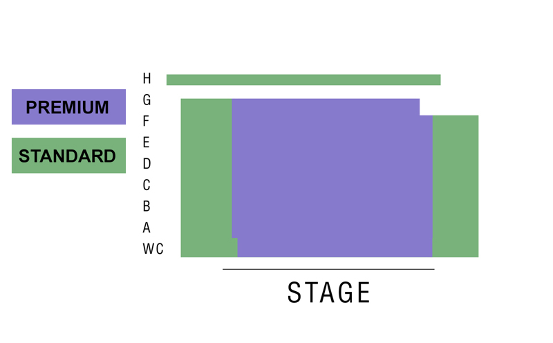 San Diego Repertory Theatre Seating Chart